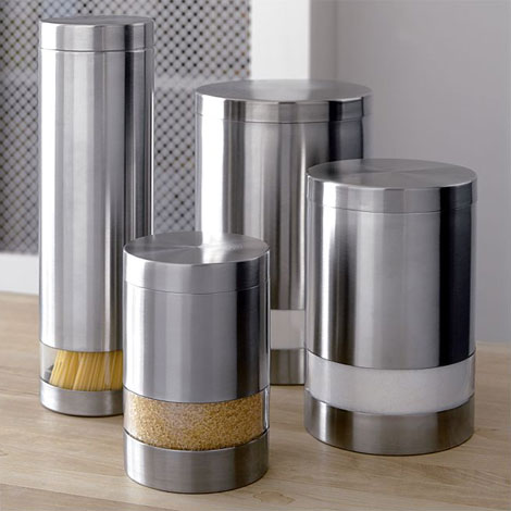 modern kitchen canisters sets at modern kitchen