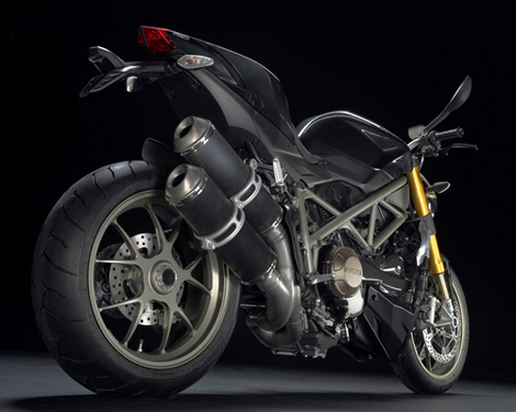 Ducati Streetfighter 1098 Mean Rear