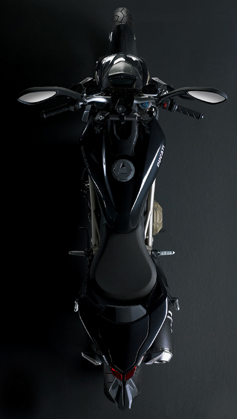 Ducati Streetfighter Skeleton