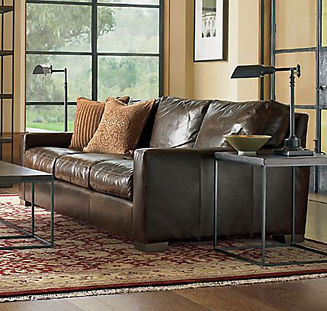 Restoration Hardware Maxwell Leather Sofa GearCulture - Maxwell sofa