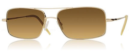 Oliver Peoples Aric Aviator Sunglasses