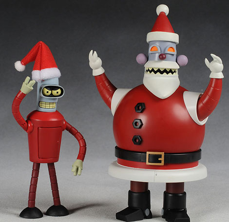 Futurama Robot Santas