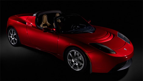 The Tesla Roadster