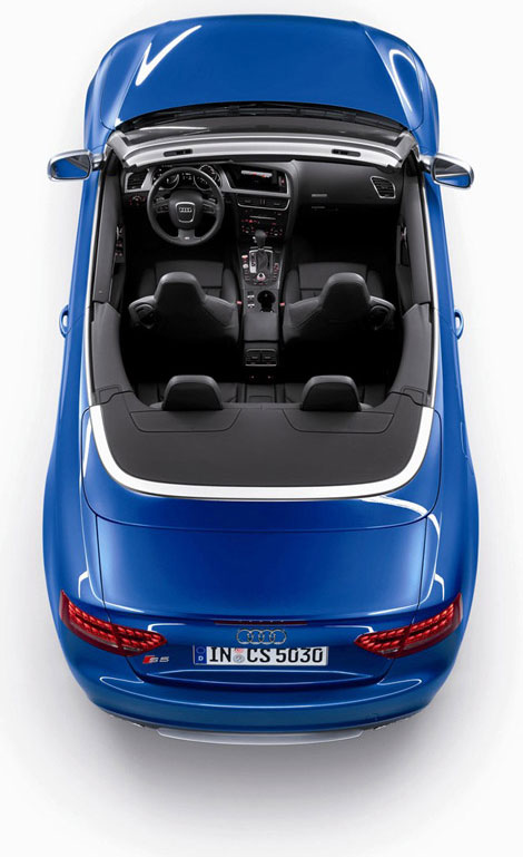Audi S5 Top View