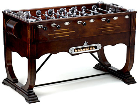 Brocantique Antique Foosball Table