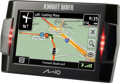 Mio Knight Rider GPS Navigator