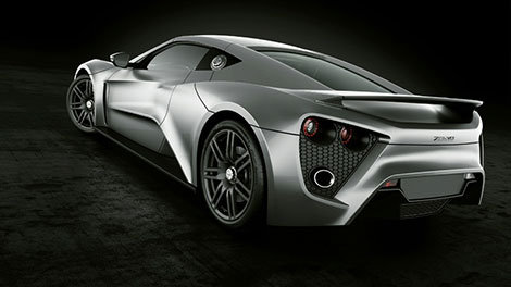 Zenvo ST1 Rear Shot