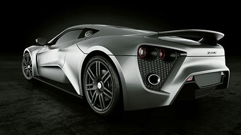 Zenvo Supercar ST1 Rear