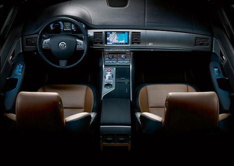 Jaguar XFR New Interior