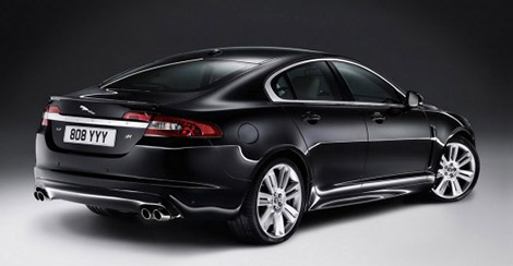 2010 Jaguar XFR Rear