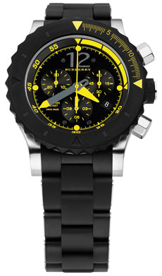 Burberry Diver Chronograph Watch