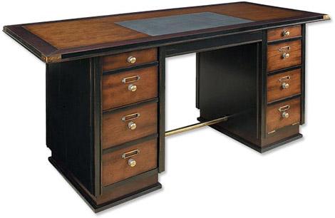 Campaign-Style Captain's Desk