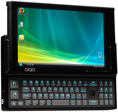 OQO Model 2+  OLED Touchscreen Notebook