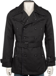 Monarchy Black Label Columbia Trench Coat