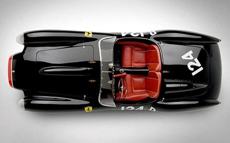 Ferrari 250 Testa Rossa Cockpit