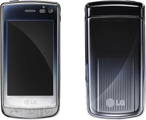 LG Transparent GD900