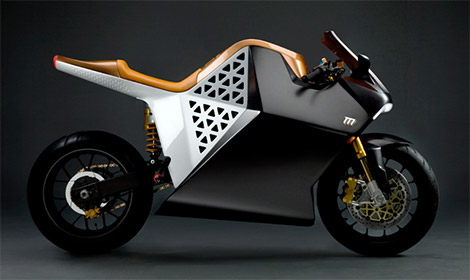 Mission Motors Mission One 100% Electric Motorcycle