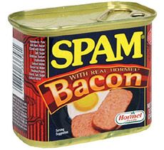 You've Heard of The PTL Club...Pack, Tamp & Light Spam-bacon