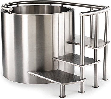 Stainless Steel Ofuro Tub