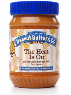 The Heat Is On Peanut Butter