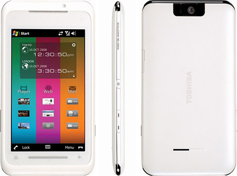 Toshiba TG01 Smartphone with 4.1 Touchscreen Display