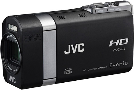 10.3 Megapixel JVC Everio X GZ-X900 Hybrid HD Camera