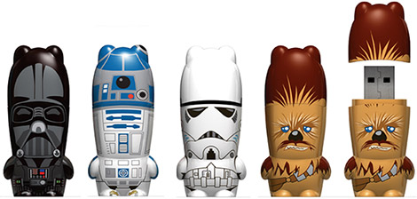 Mimoco Star Wars Mimobot USB Flash Drives