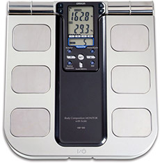 Omron HBF-500 Body Composition Monitor & Weight Scale