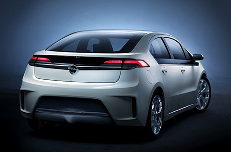Opel Ampera Extended-Range Electric Vehicle