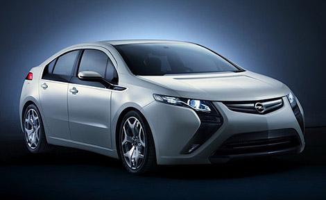 Opel Ampera Hybrid Vehicle