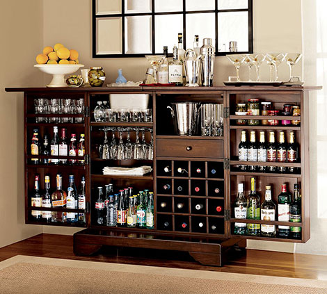 Pottery Barn Modine Bar