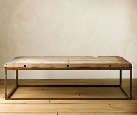 Restoration Hardware Brickmaker's Table