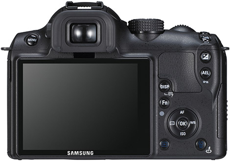 Samsung NX Series Back