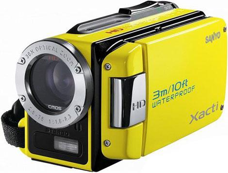 Sanyo VPC-WH1 Underwater Dual Camera