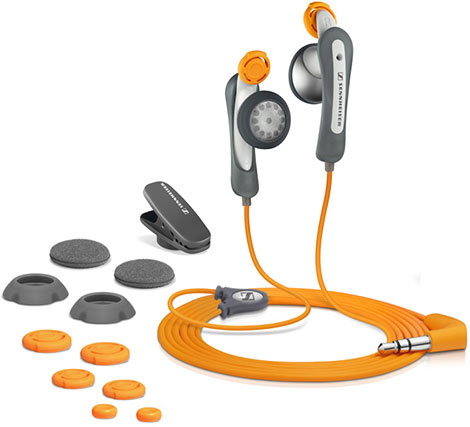 Twist-to-Fit Sennheiser MX 85 Sport II Earphones