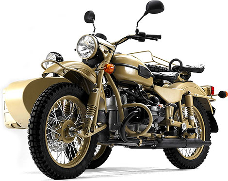 Limited Edition Ural Gear Up Sahara