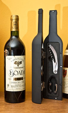 Wine Bottle Accessory Kit