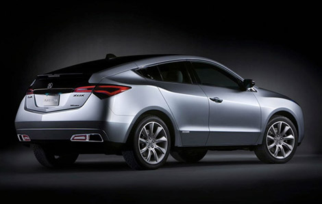 Acura ZDX with Coupe-like Styling