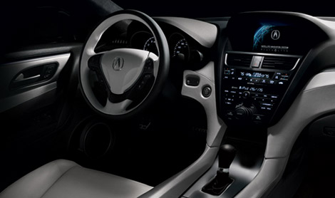 Acura ZDX Sports Utility Sedan Interior