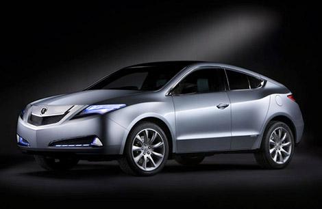 Acura ZDX Sports Utility Sedan