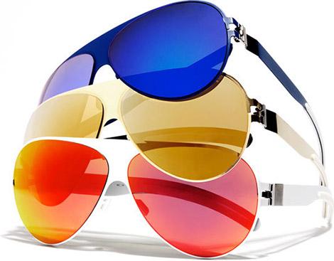 Bernard Wilhelm Mykita Aviator Sunglasses
