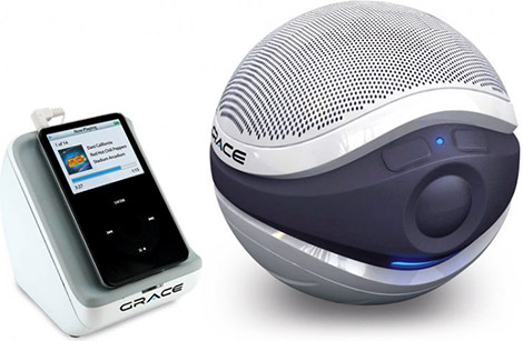 Grace Digital Audio Aqua Sounders Floating Speaker