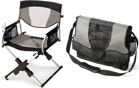 Messenger Bag Director's Chair