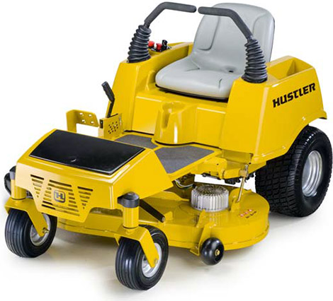 Hustler riding mower