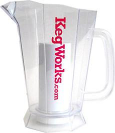 Kegworks.com Polar Pitcher with Ice Chamber