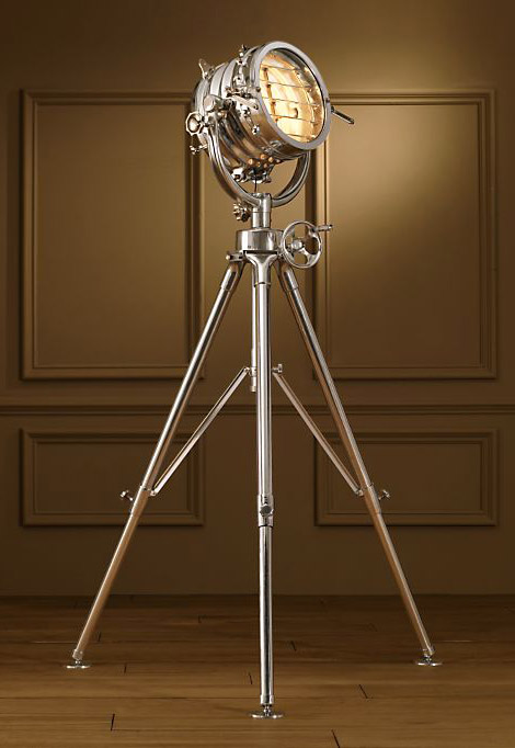 Restoration Hardware Royal Master Sealight Floor Lamp