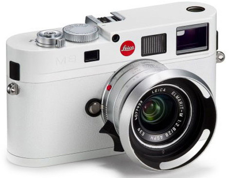 10.3 Megapixel Limited Edition All-White Leica M8