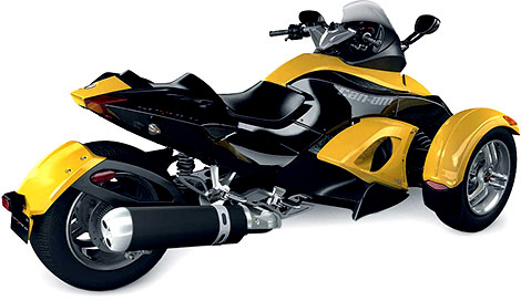 Can-Am Spyder Motorcycle
