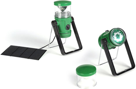 Rechargeable K-Light Solar Lantern & Flashlight