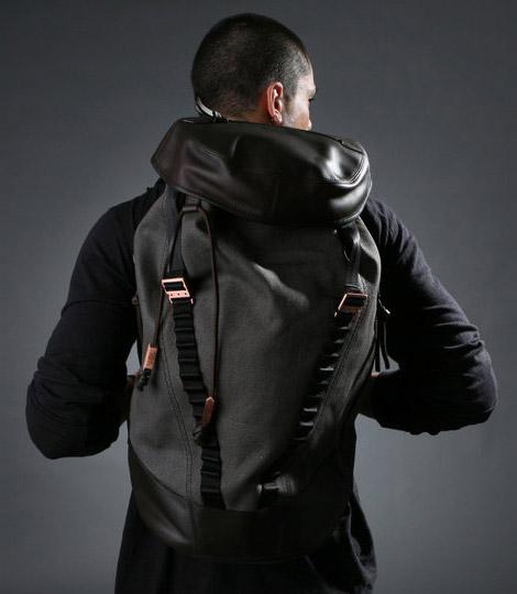 Vael Rucksack Cylinder Bag